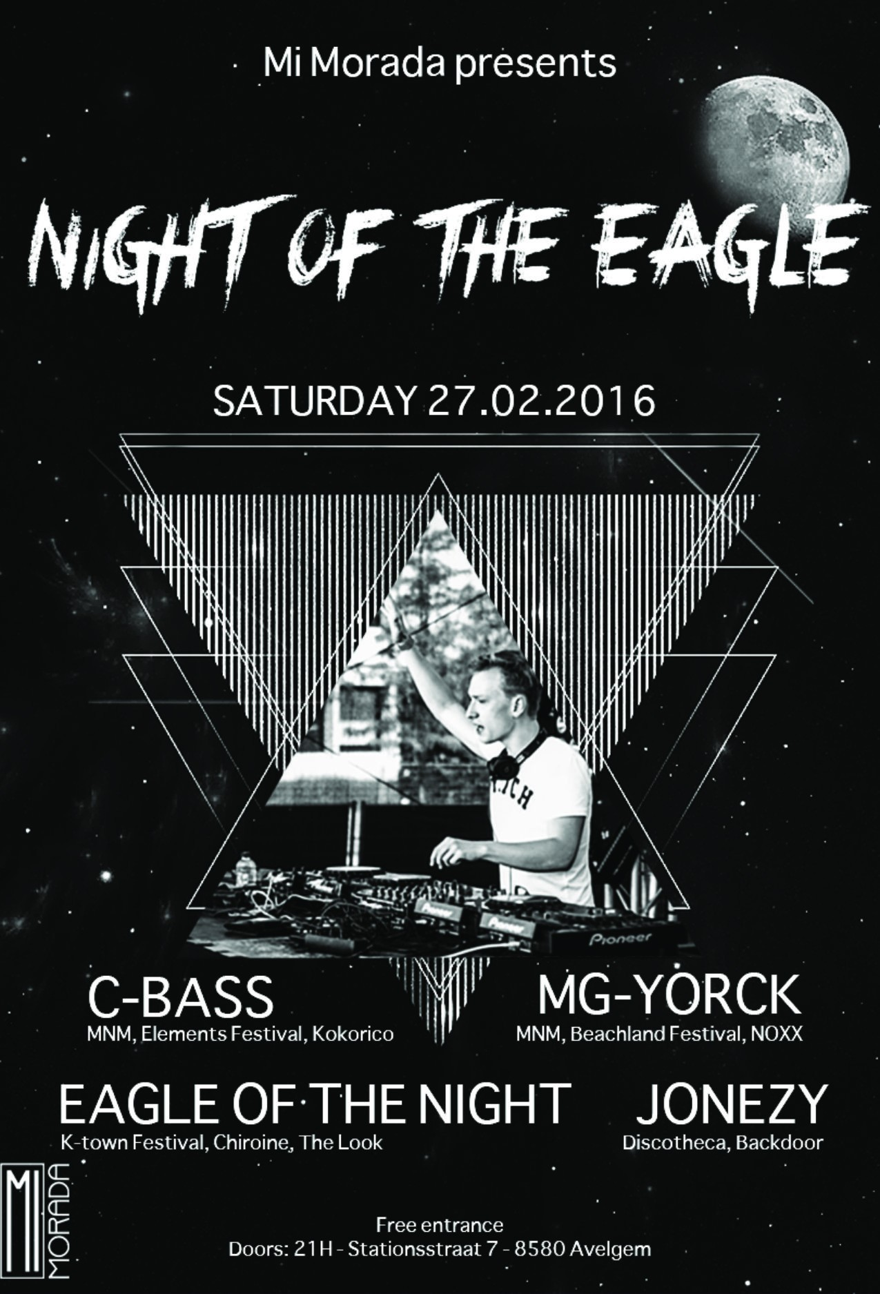 Affiche Night Of The Eagle