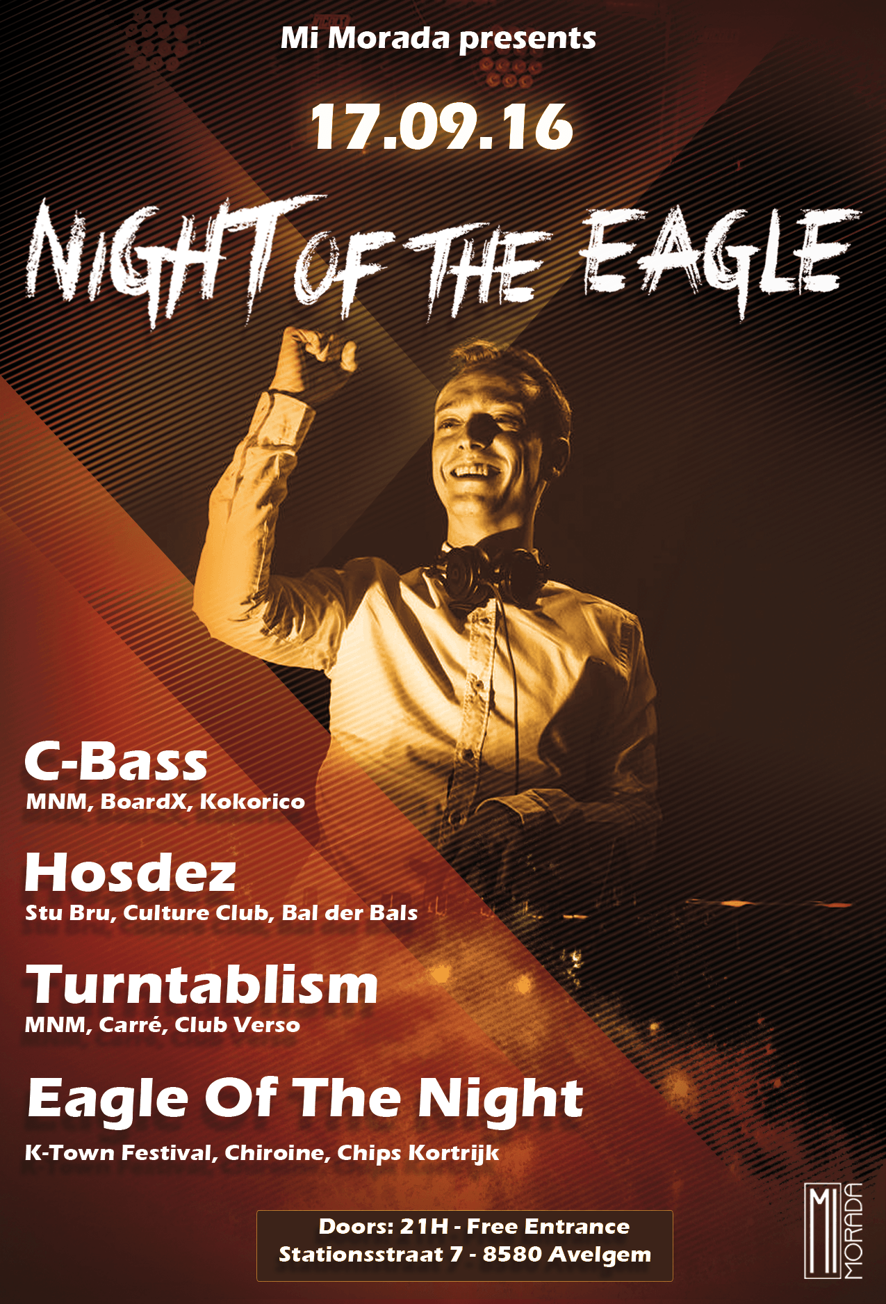 Affiche Night Of The Eagle PART 2