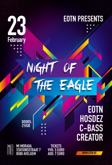 Affiche Night Of The Eagle PART 6